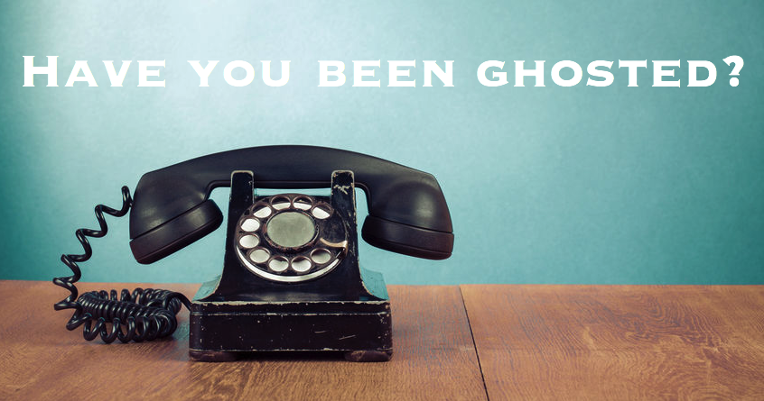 ghosted dating definitie